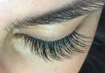 73c9945ac1e Mixed Blend Eyelash Extensions. Beautiful mixed blend lashes