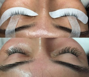 Designer Eyelash Extensions - Before & After Gallery